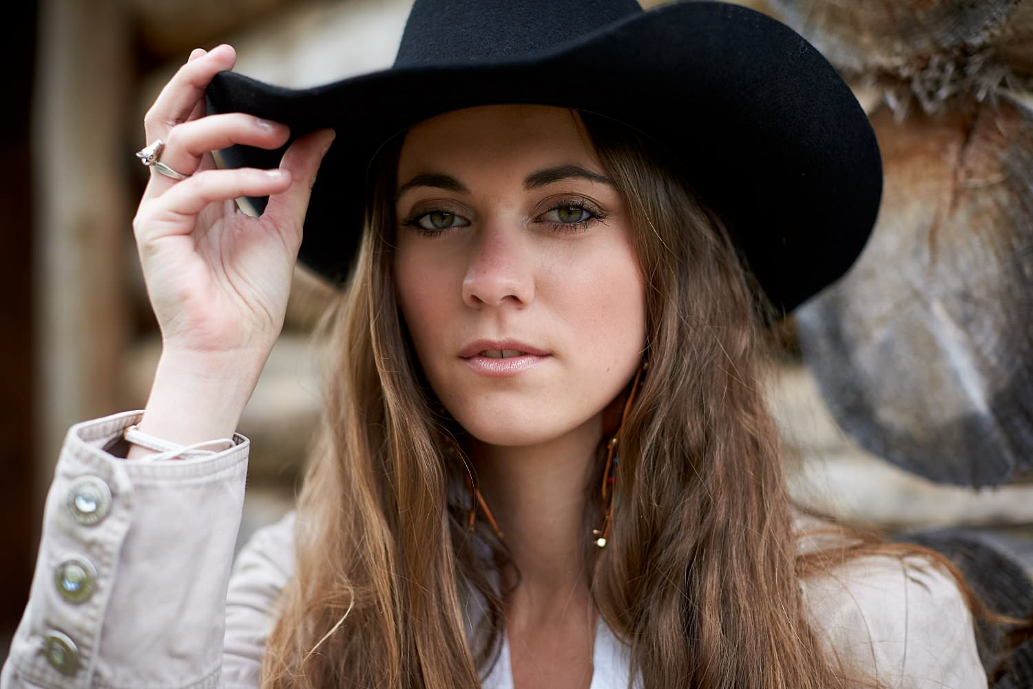 photo portrait cowgirl lifestyle